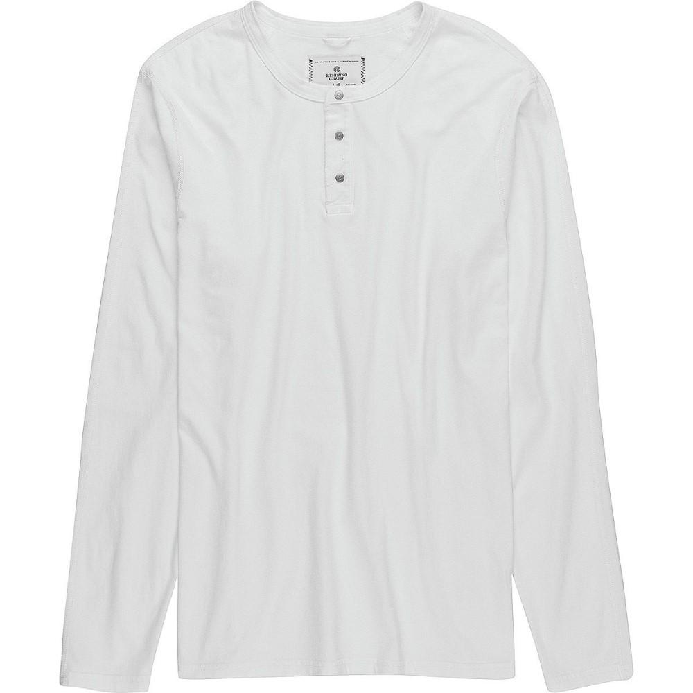 レイニングチャンプ メンズ トップス 長袖Tシャツ【Long - Sleeve Henleys】White