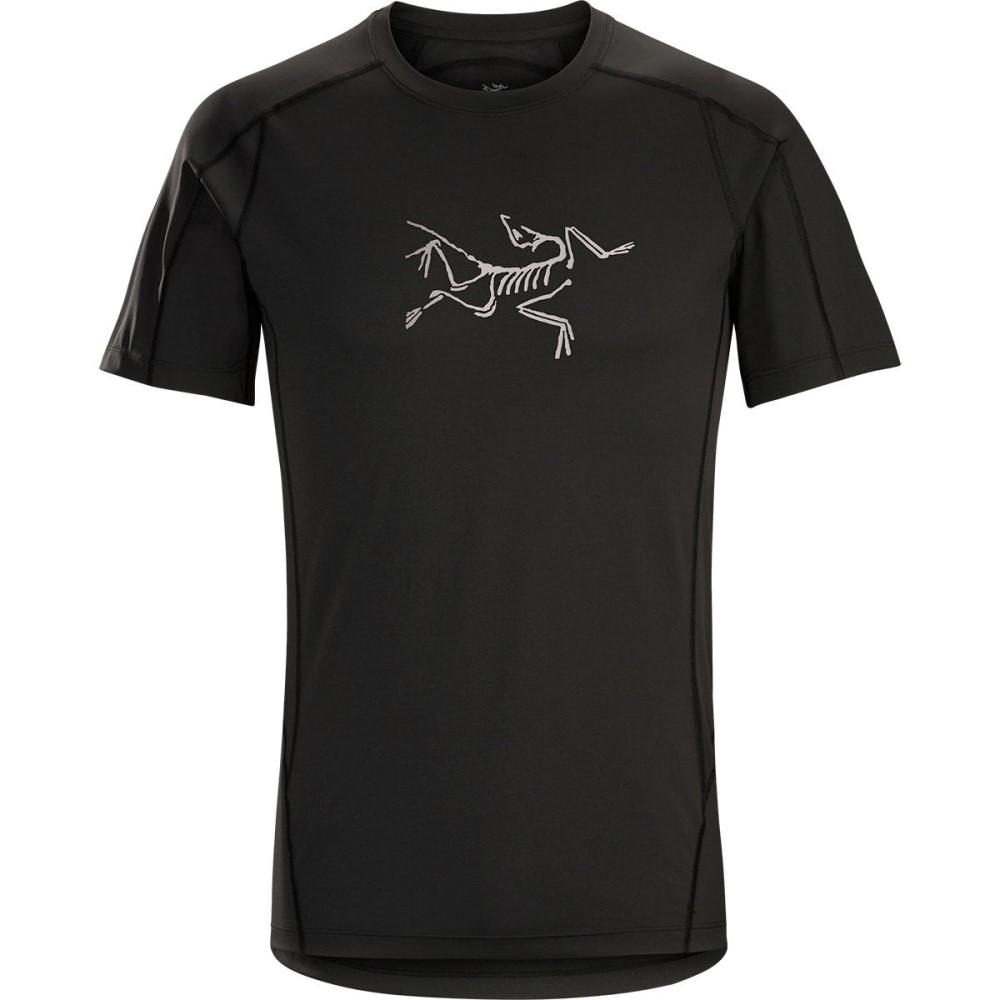 アークテリクス メンズ トップス Tシャツ【Phasic Evolution Crew Shirts】Black