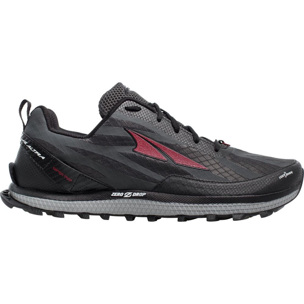 アルトラ メンズ ランニング・ウォーキング シューズ・靴【Superior 3.5 Trail Running Shoes】Black/Red