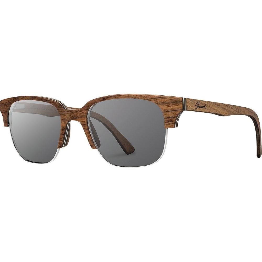 【10%OFF】 シュウッド レディース スポーツサングラス【NewPort - 52mm Polarized シュウッド Sunglasses Polarized】Walnut - Grey Polarized, 日本最大のブランド:45833630 --- canoncity.azurewebsites.net