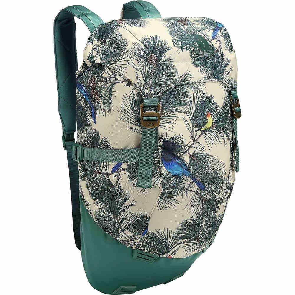 ザ ノースフェイス レディース バッグ バックパック・リュック【Homestead Roadtripper 30L Backpack】Peyote Beige Birding Print/Jasper Green