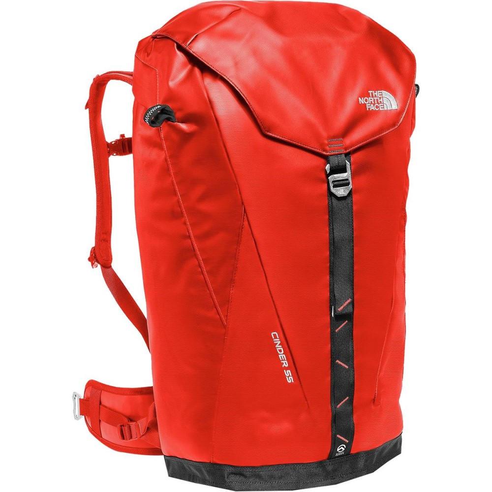 ザ ノースフェイス メンズ バッグ バックパック・リュック【Cinder 55L Backpack】Fiery Red/Tnf Black