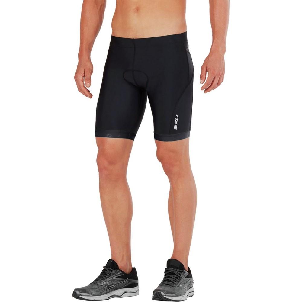 ツータイムズユー メンズ トライアスロン ボトムス・パンツ【Active 8in Tri Shorts】Black/Black