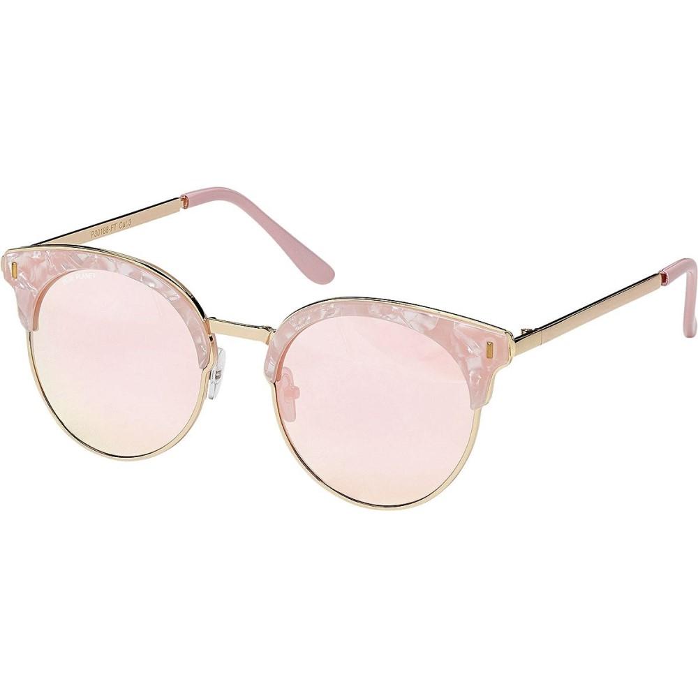 ブループラネット レディース スポーツサングラス【Skye Polarized Sunglasses】Pink Pearl/Gold/Rose Gold Mirror Polarized