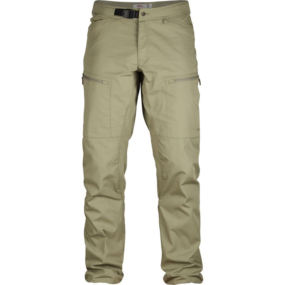 フェールラーベン メンズ ボトムス・パンツ【Abisko Shade Pants】Savanna