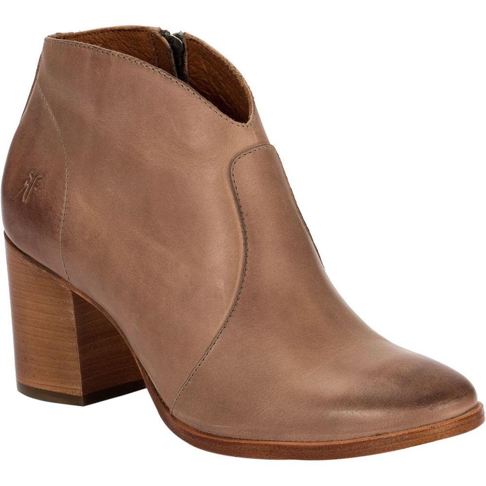 フライ レディース シューズ・靴 ブーツ【Nora Zip Short Boot】Dusty Rose Waxy Pull Up