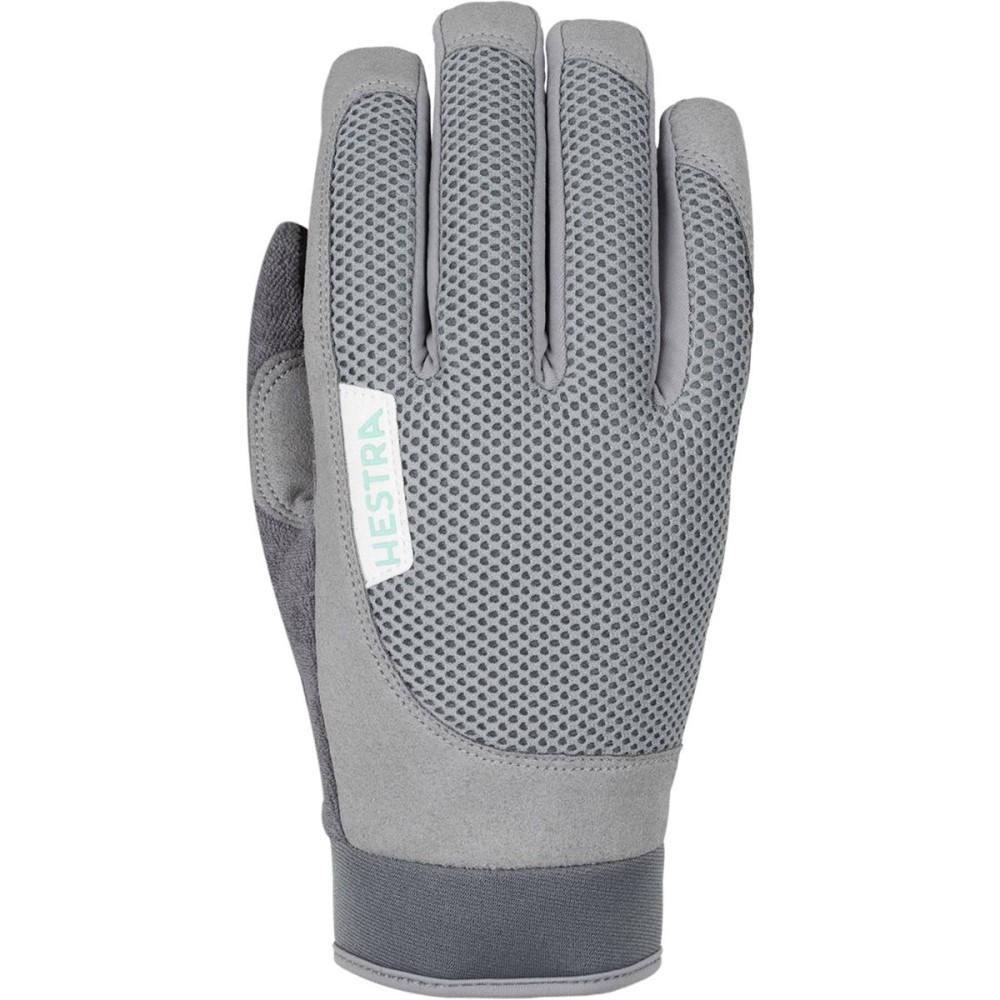 ヘスタ メンズ 自転車 グローブ【Bike Long Sr. Gloves】Light Grey