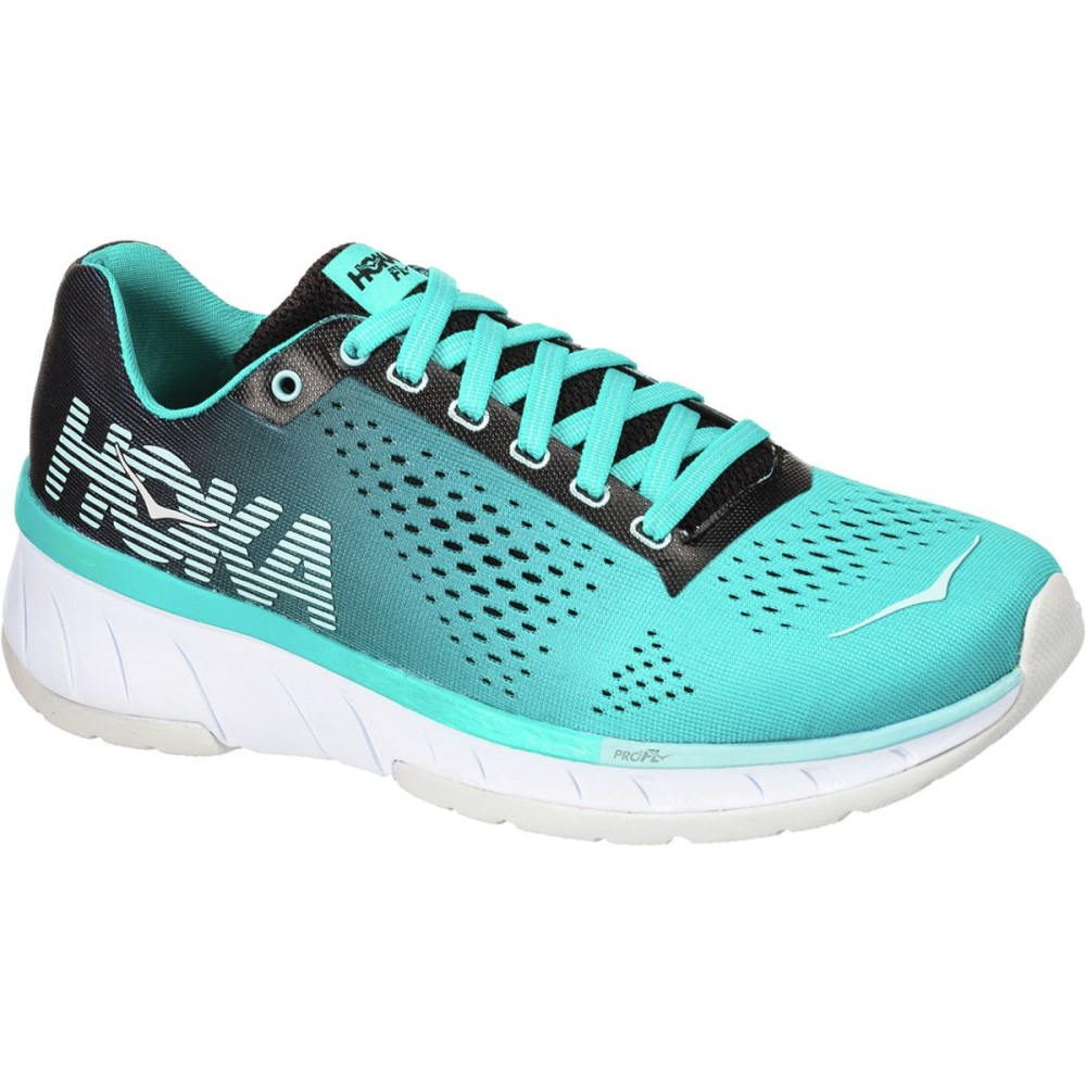 ホカ オネオネ レディース ランニング・ウォーキング シューズ・靴【Cavu Running Shoe】Black/Bluebird