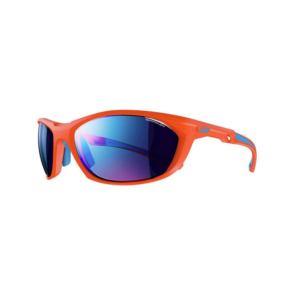 ジュルボ レディース スポーツサングラス【Race 2.0 Sunglasses - Spectron 3 CF】Matte Orange-Blue/Spectron CF Blue