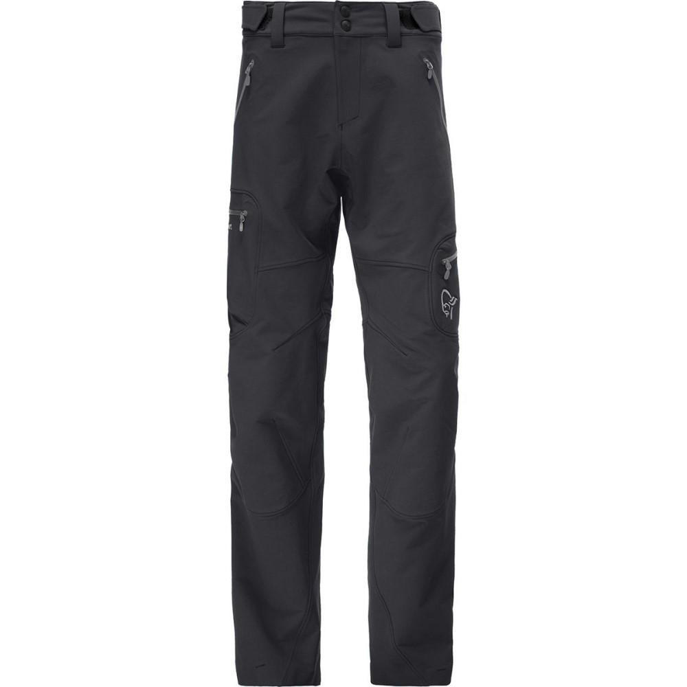ノローナ メンズ ボトムス・パンツ【Svalbard Flex1 Softshell Pants】Caviar/Castor Grey