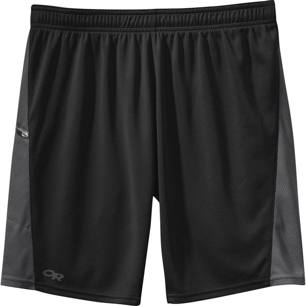 アウトドアリサーチ メンズ フィットネス・トレーニング ボトムス・パンツ【Pronto Shorts】Black/Charcoal
