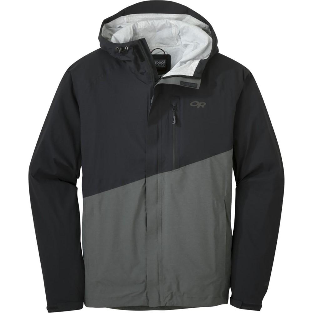 アウトドアリサーチ メンズ アウター レインコート【Panorama Point Jackets】Black/Charcoal Heather