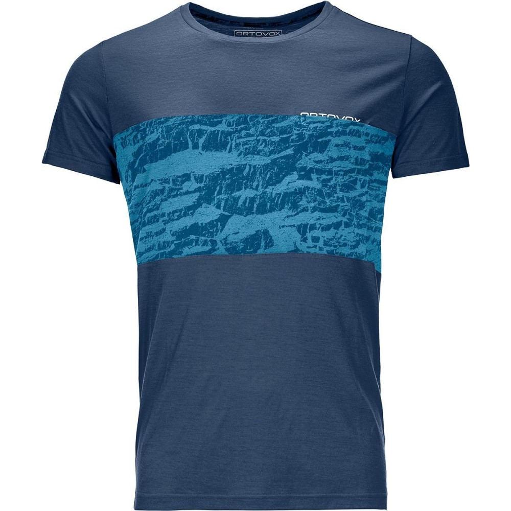 オルトボックス メンズ トップス Tシャツ【120 Tec Tops】Night Blue