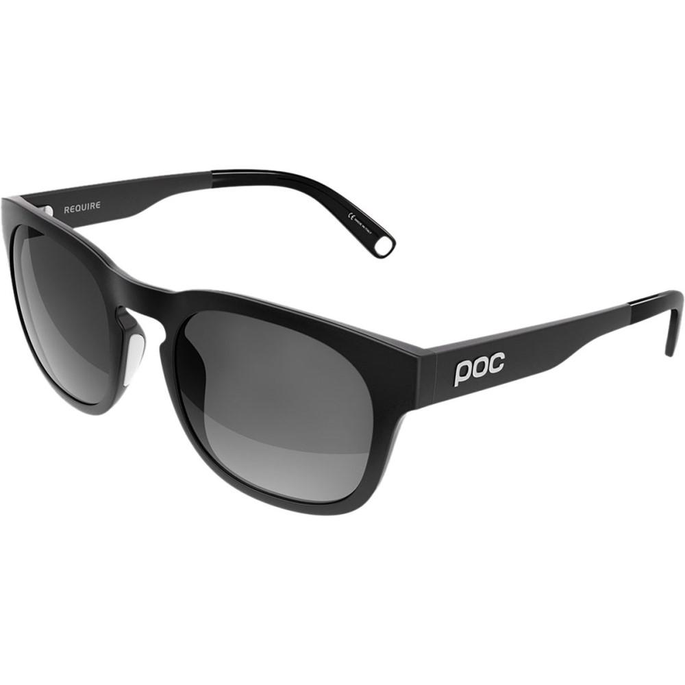 ピーオーシー レディース スポーツサングラス【Require Sunglasses】Uranium Black/Grey