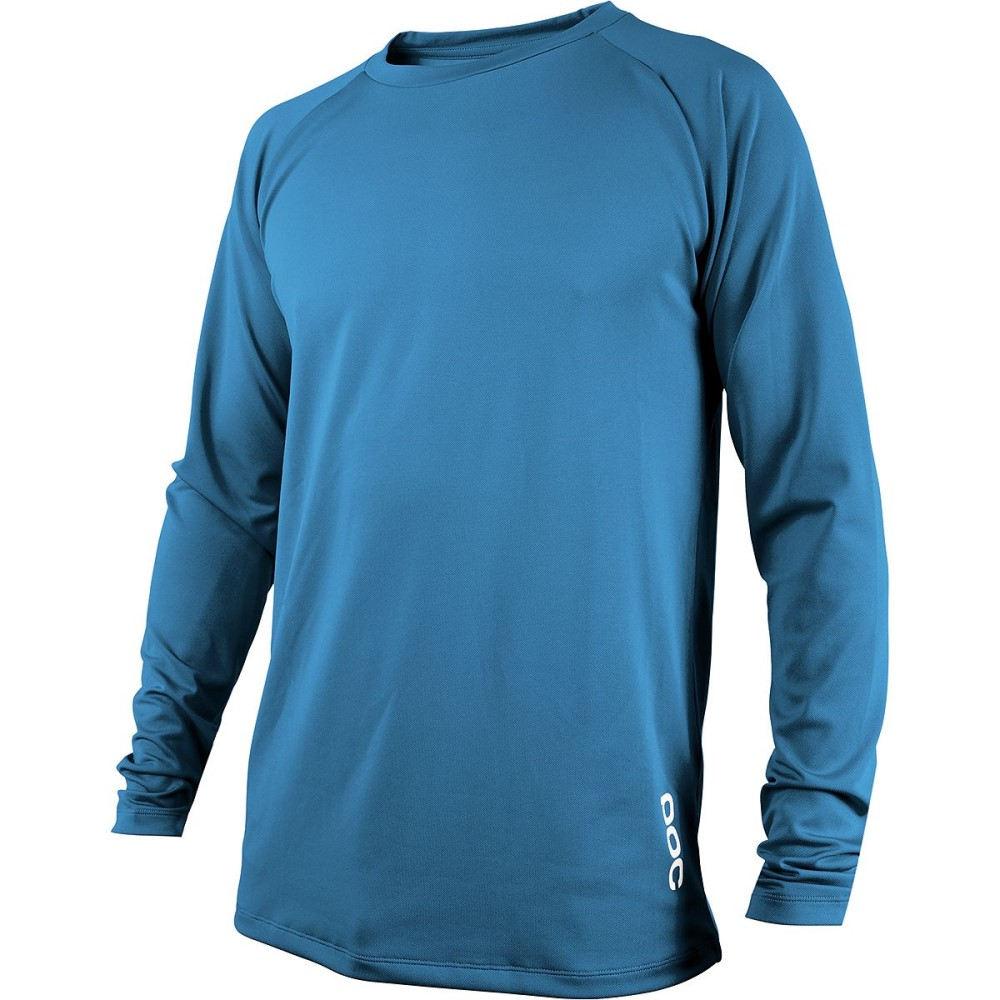 ピーオーシー メンズ 自転車 トップス【Resistance DH Long - Sleeve Jerseys】Furfural Blue
