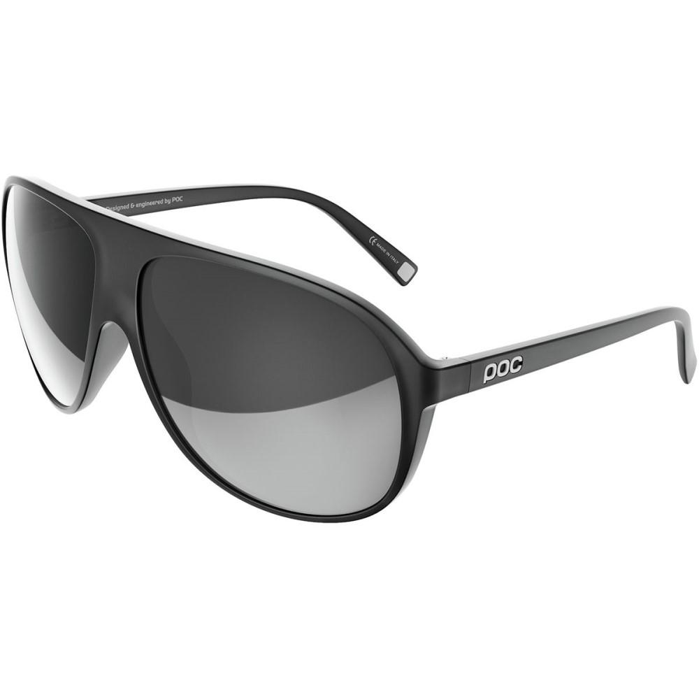 ピーオーシー レディース スポーツサングラス【DID Sunglasses】Uranium Black Translucent/Grey/White Mirror
