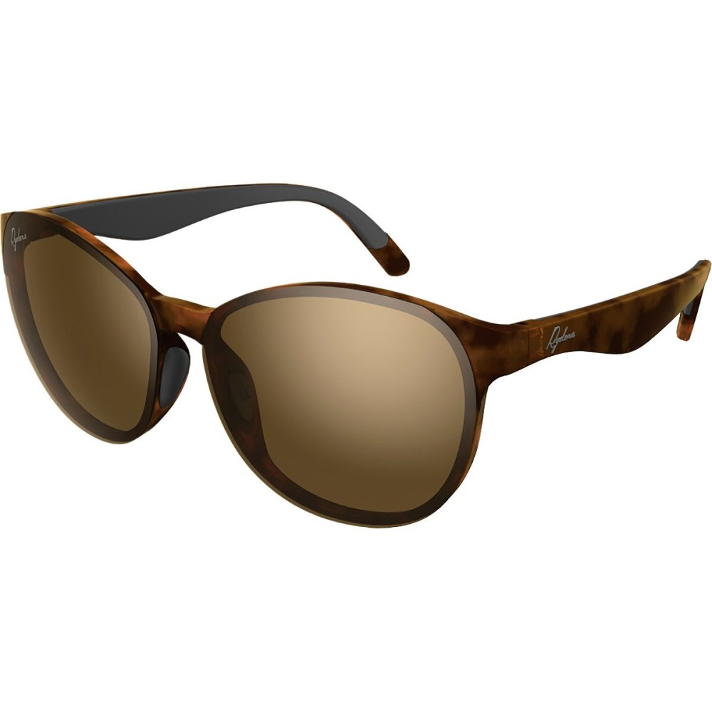 ライダーズ アイウェア レディース スポーツサングラス【Serra Sunglasses - Polarized】Polar Demi / Brown Lens Silver Fm