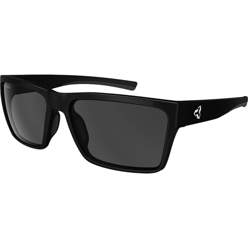 ライダーズ アイウェア レディース スポーツサングラス【Nelson Sunglasses - Polarized】Velo-Polar Black Matte / Dk Grey Lens