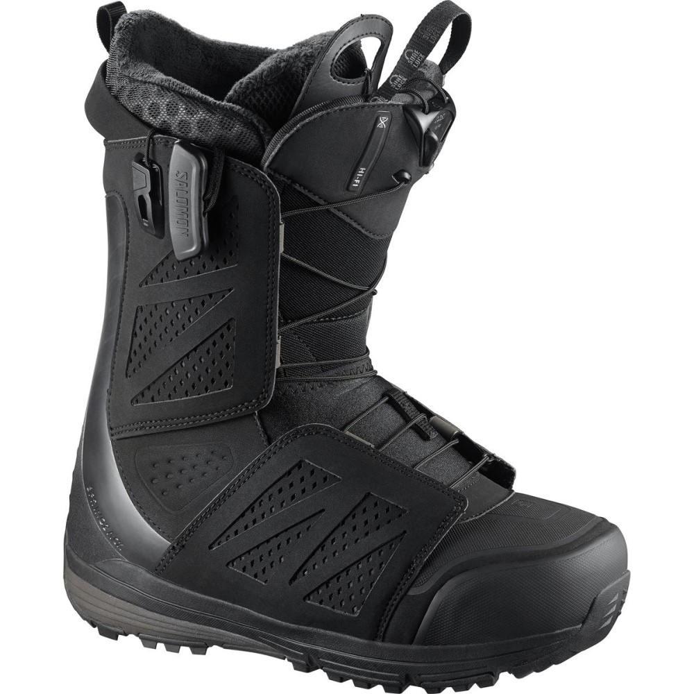 サロモン メンズ スキー・スノーボード シューズ・靴【Hi Fi Snowboard Boots】Black