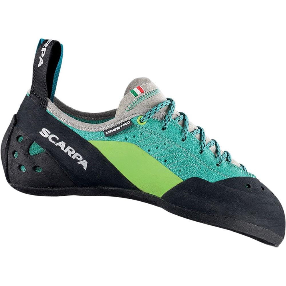 全品送料0円 スカルパ レディース クライミング シューズ Climbing・靴 スカルパ【Maestro Climbing Shoe レディース】Green Blue, OUTFIT:86029e2b --- canoncity.azurewebsites.net