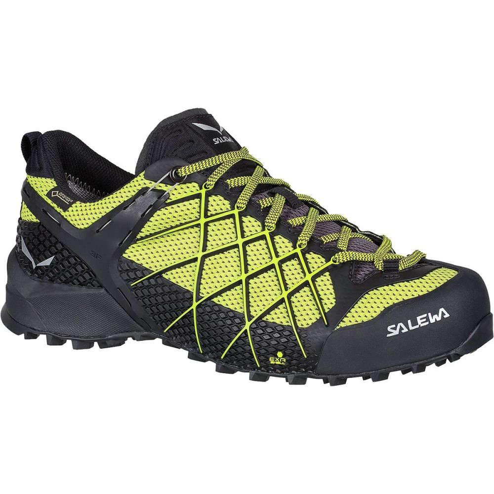 サレワ メンズ ハイキング・登山 シューズ・靴【Wildfire GTX Hiking Shoes】Black Out/Mimosa