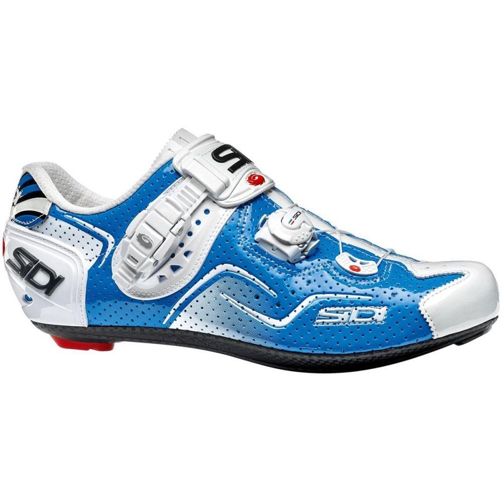 Carbon 自転車 シディー Air Shoess】Blue/White メンズ シューズ・靴【Kaos