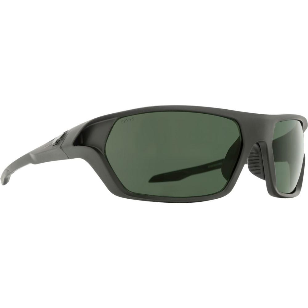 スパイ メンズ スポーツサングラス【Quanta 2 Sunglasses】Matte Black Ansi Rx - Happy Gray Green