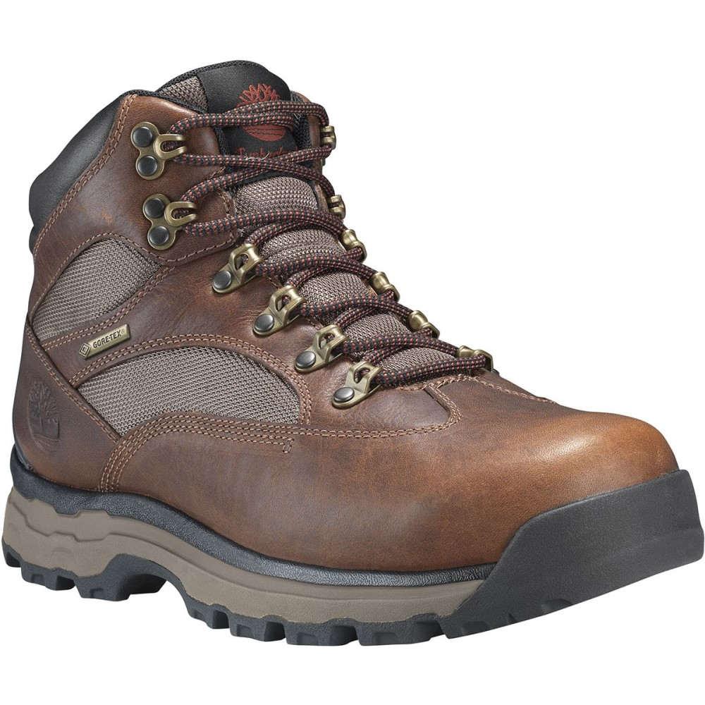 ティンバーランド メンズ ハイキング・登山 シューズ・靴【Chocorua Trail 2 Mid GTX Boots】Medium Brown Full-Grain