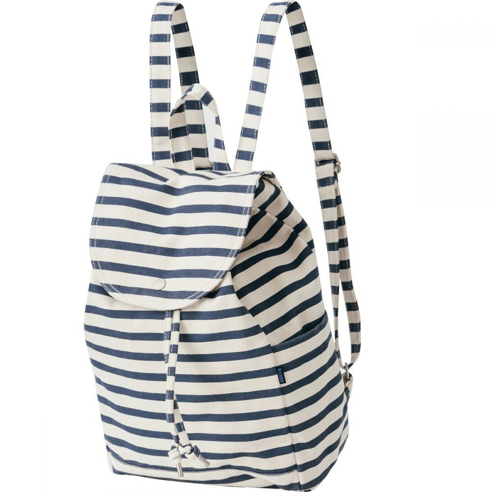 バッグー レディース バッグ バックパック・リュック【Drawstring Backpack】Sailor Stripe