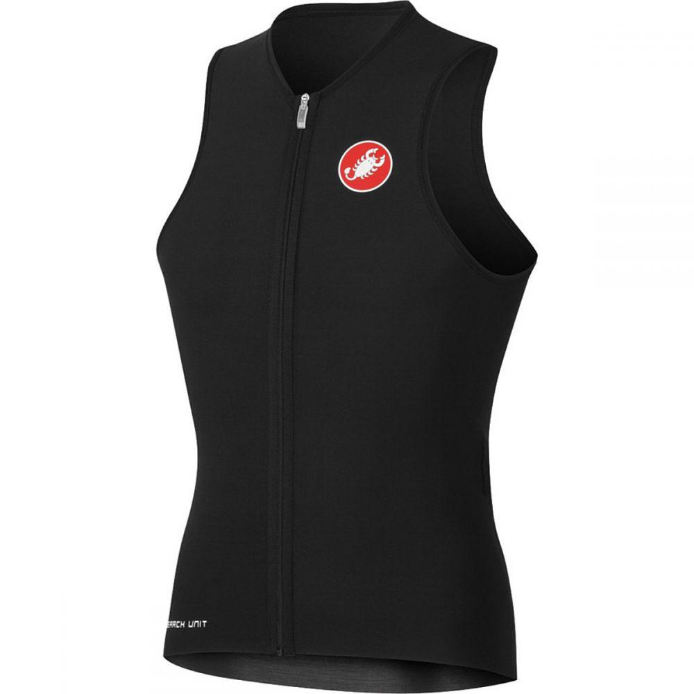 カステリ メンズ トライアスロン トップス【Body Paint Tri Sleeveless Jerseys】Black