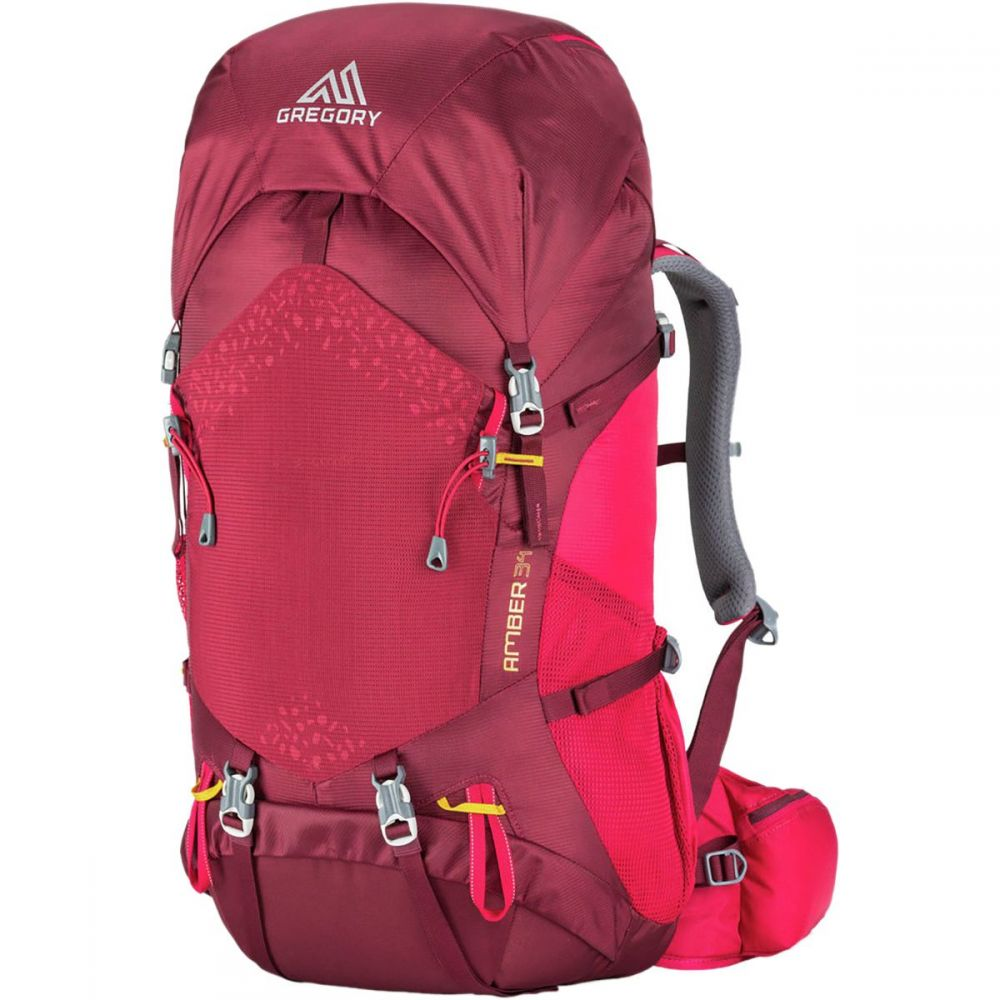 グレゴリー レディース ハイキング・登山 バックパック・リュック【Amber 34L Backpack】Chili Pepper Red