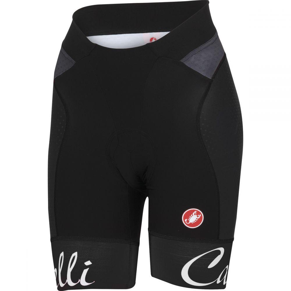 カステリ レディース 自転車 ボトムス・パンツ【Free Aero Shorts】Black