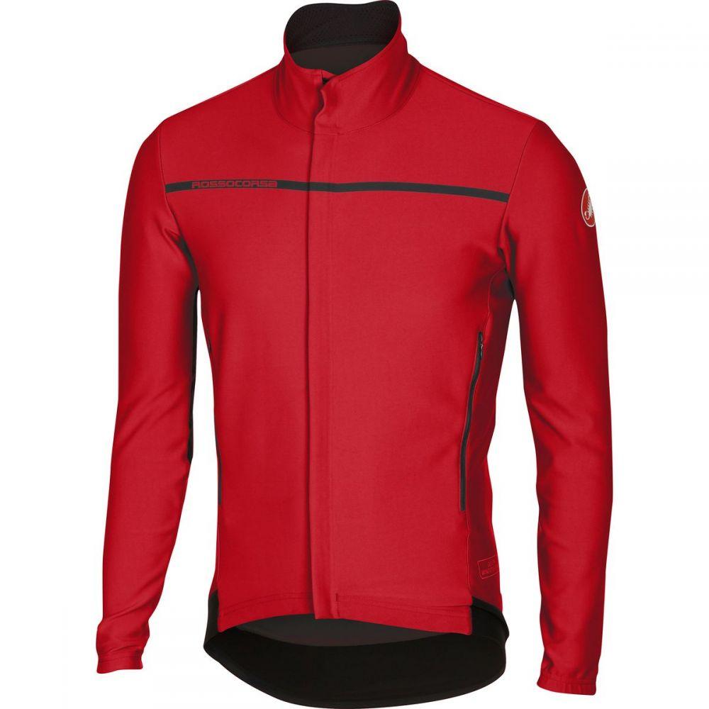 カステリ メンズ 自転車 トップス【Perfetto Long - Sleeve Jerseys】Red