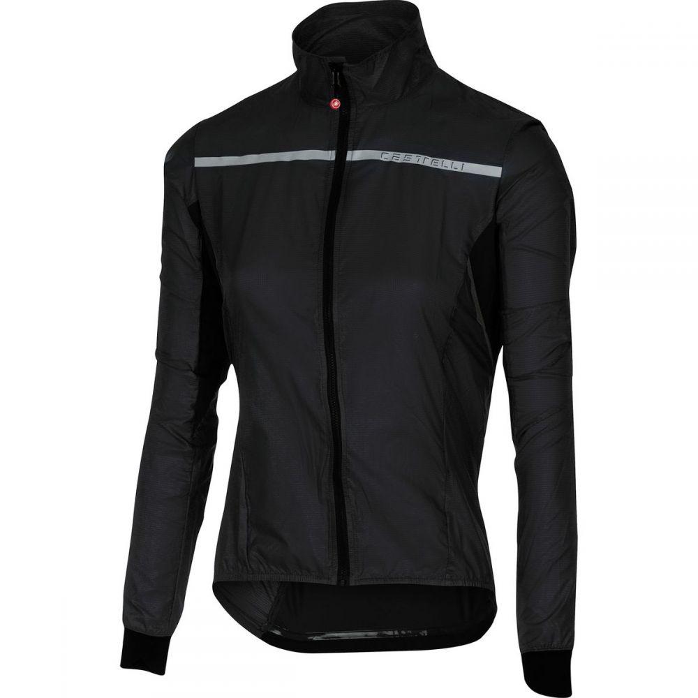 カステリ レディース 自転車 アウター【Superleggera Jacket】Black