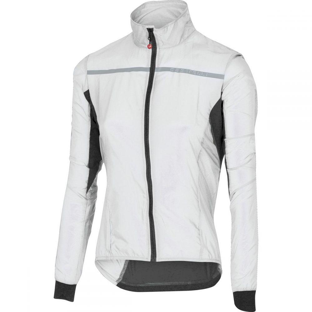 カステリ レディース 自転車 アウター【Superleggera Jacket】White