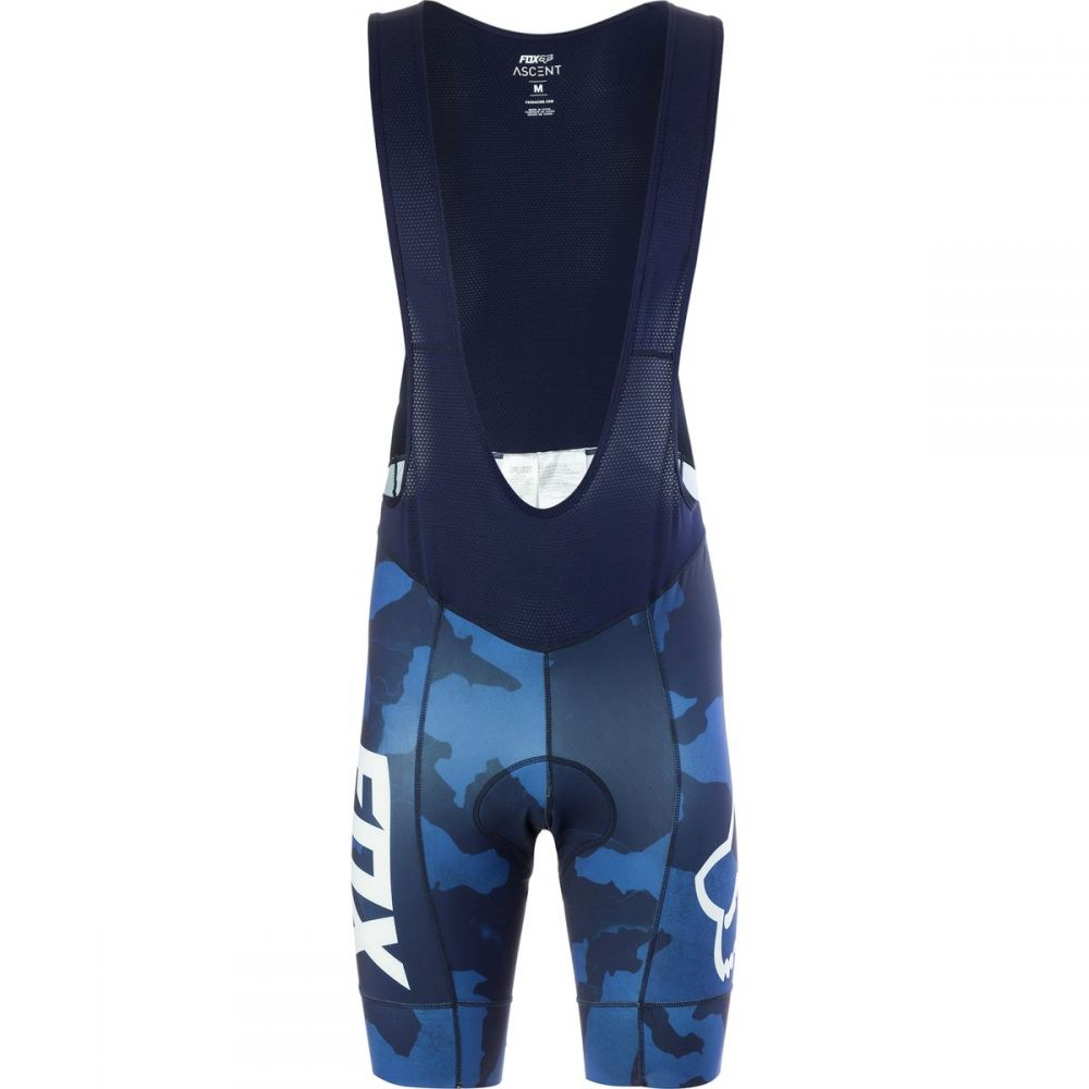 フォックス レーシング メンズ 自転車 ボトムス・パンツ【Ascent Bib Shortss】Blue Camo