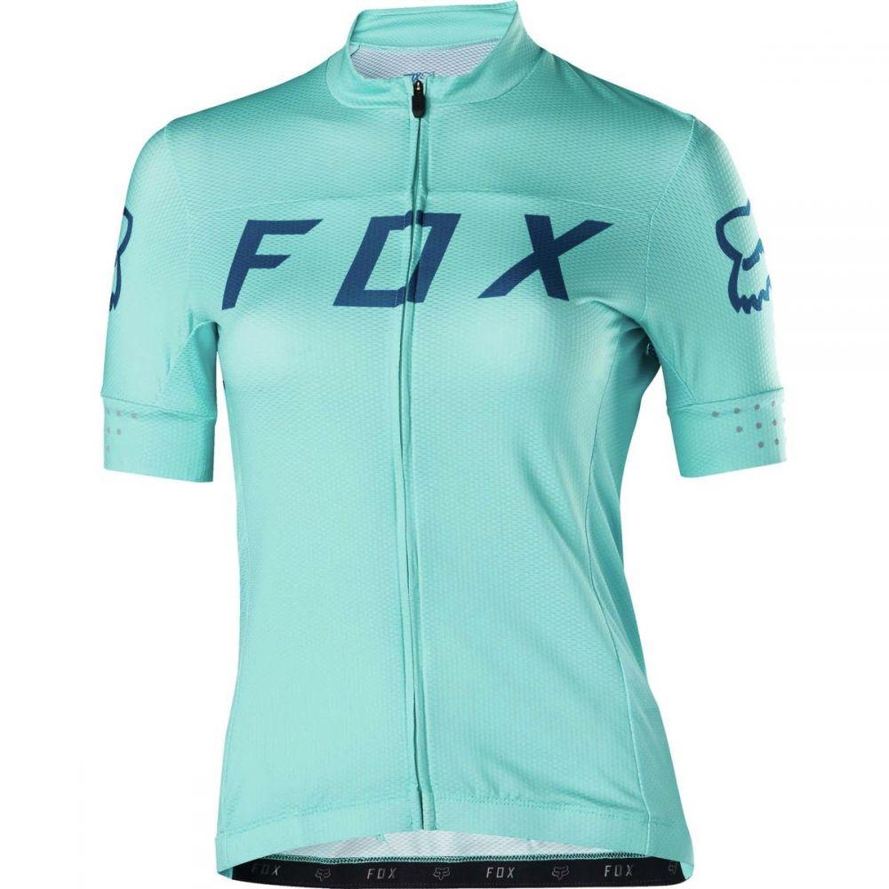 フォックス レーシング レディース 自転車 トップス【Switchback Jersey】Ice Blue