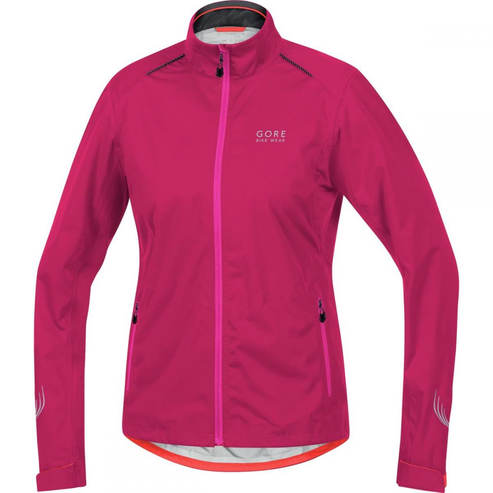 ゴアバイクウェア レディース 自転車 アウター【Element Lady Gore - Tex Active Jacket】Jazzy Pink/Magenta