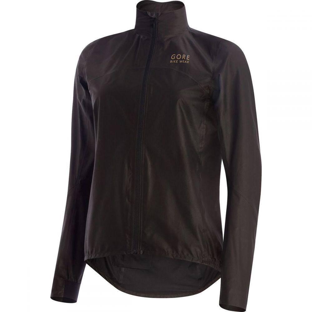 ゴアバイクウェア レディース 自転車 アウター【One Lady GTX Shakedry Bike Jacket】Black