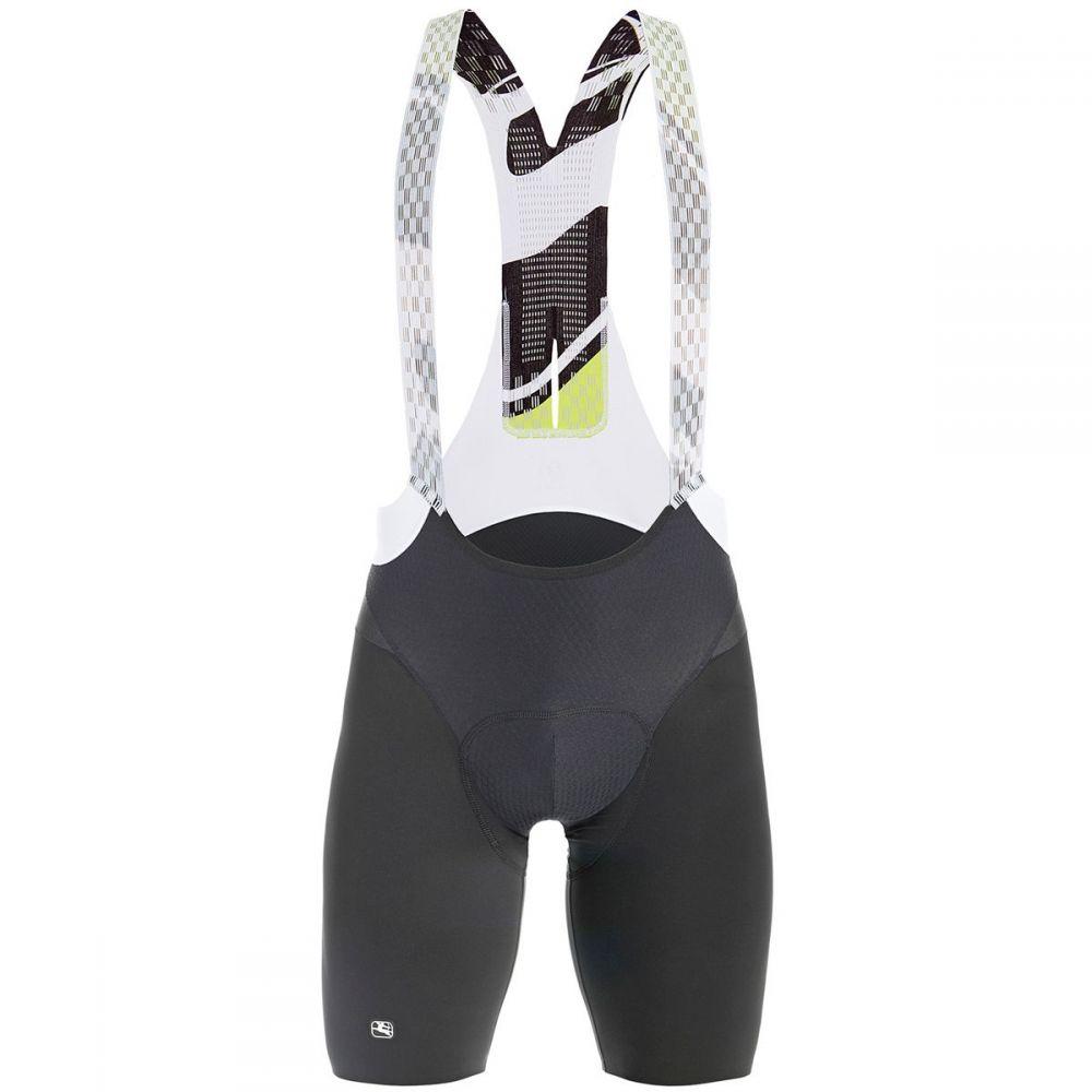 ジョルダーノ メンズ 自転車 ボトムス・パンツ【Lungo Bib Shortss】Black