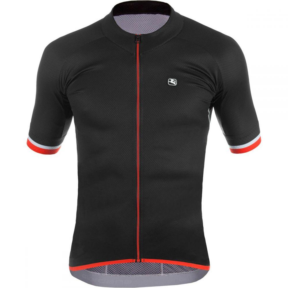 ジョルダーノ メンズ 自転車 トップス【SilverLine Classic Jersey - Short - Sleeves】Black/Red Accents