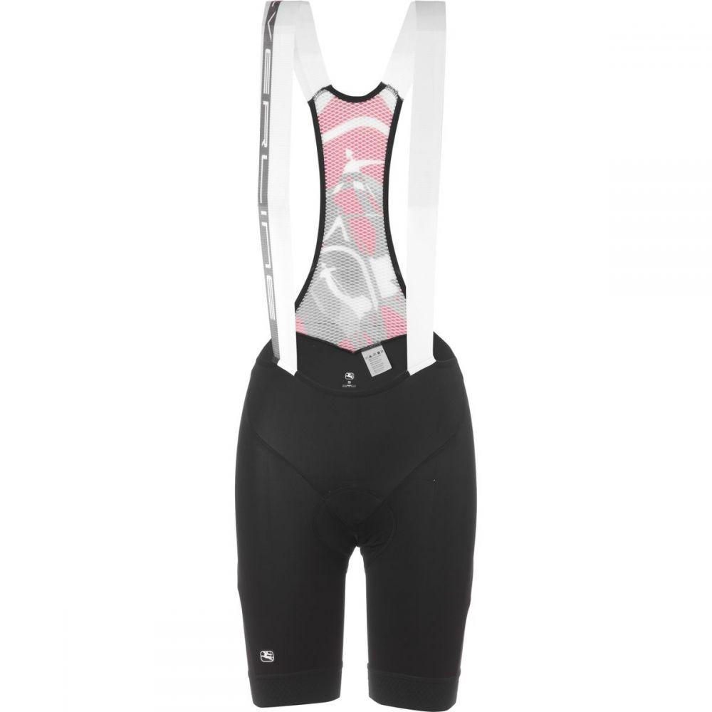 ジョルダーノ レディース 自転車 ボトムス・パンツ【SilverLine Bib Shorts】Black/Black
