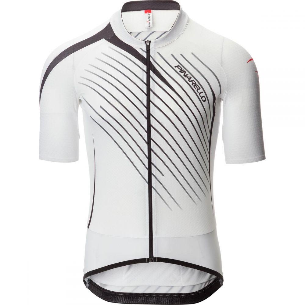 ピナレロ メンズ 自転車 トップス【Tour Jerseys】White/Black