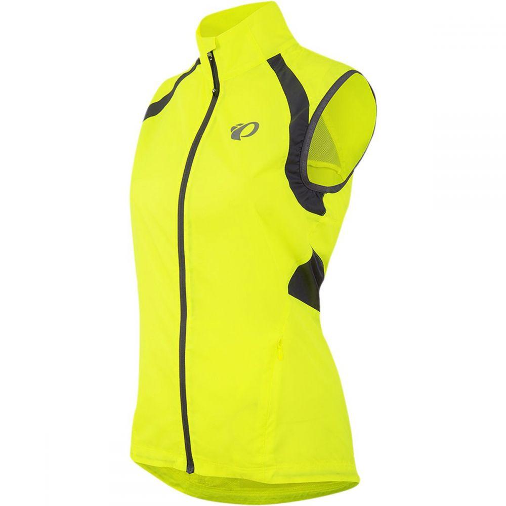 パールイズミ レディース 自転車 トップス【ELITE Barrier Vest】Screaming Yellow/Smoked Pearl