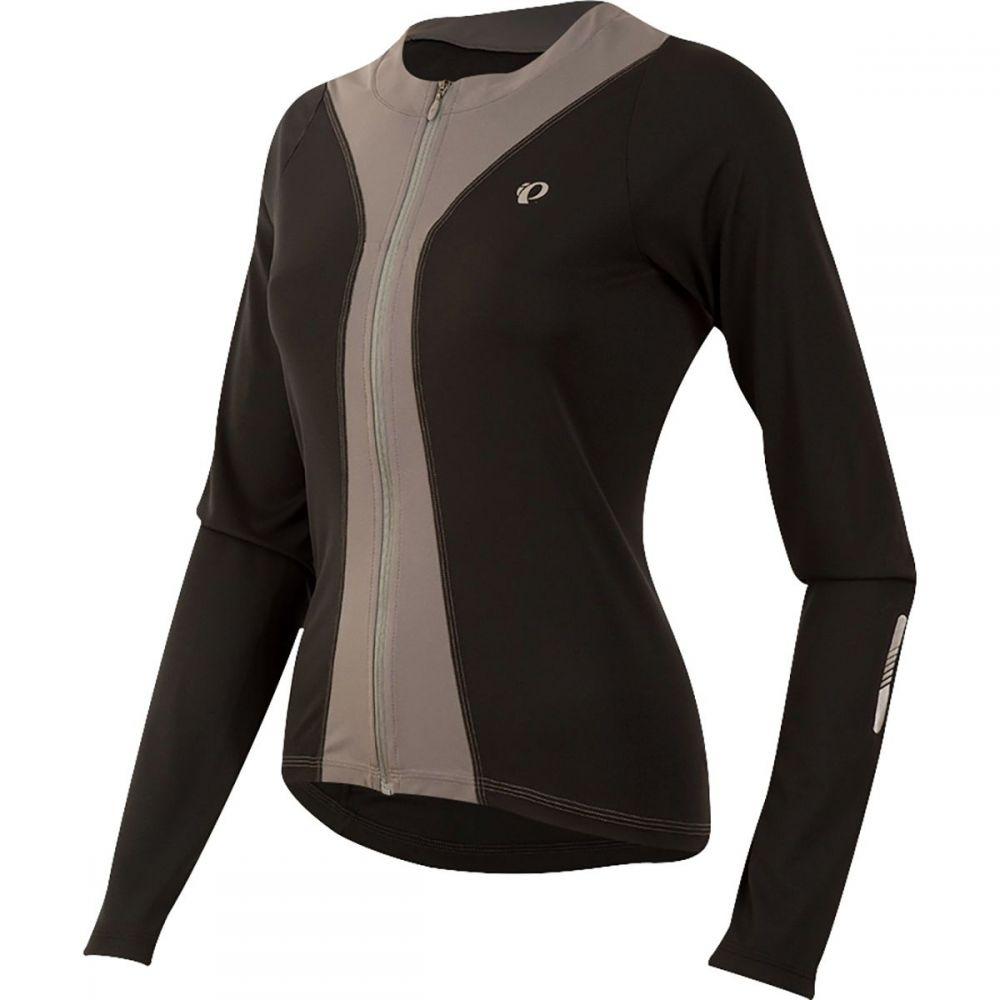 パールイズミ レディース 自転車 トップス【Select Pursuit Long - Sleeve Jersey】Black/Smoked Pearl
