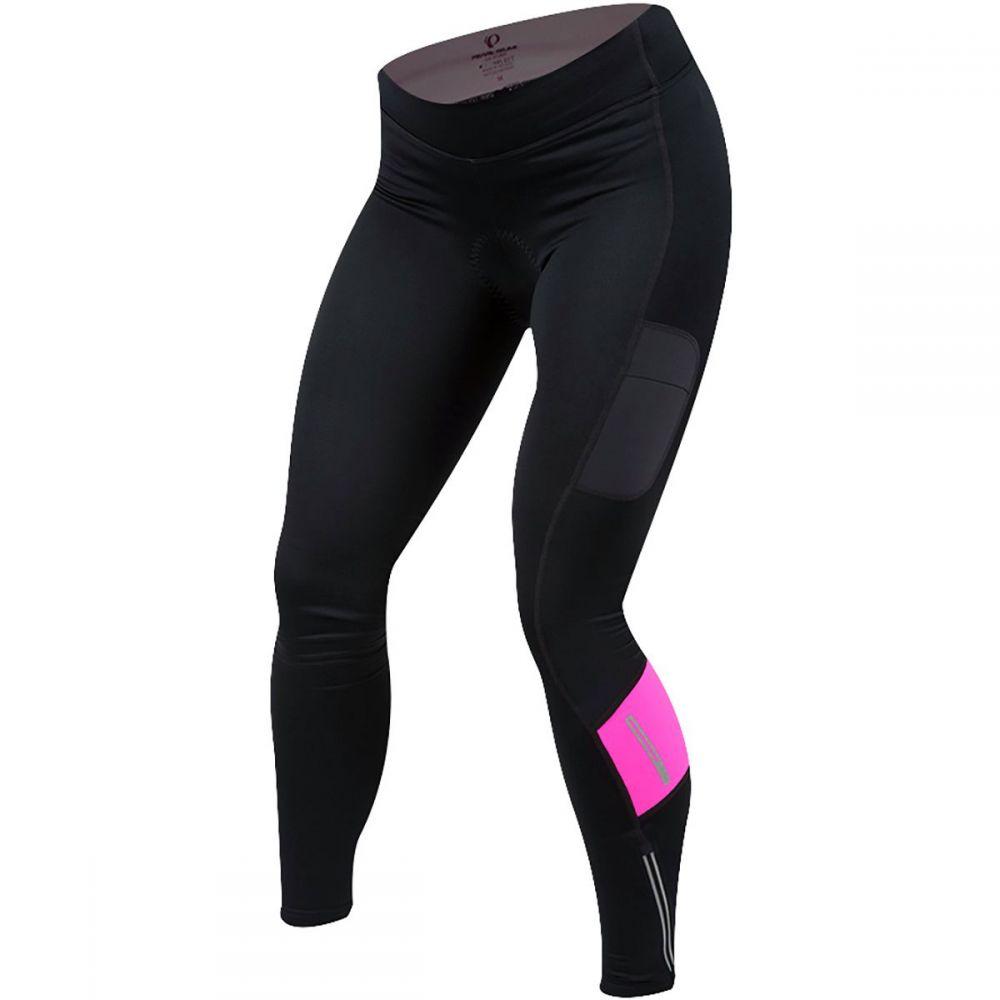 パールイズミ レディース 自転車 ボトムス・パンツ【Escape Sugar Thremal Cycling Tight】Black/Screaming Pink