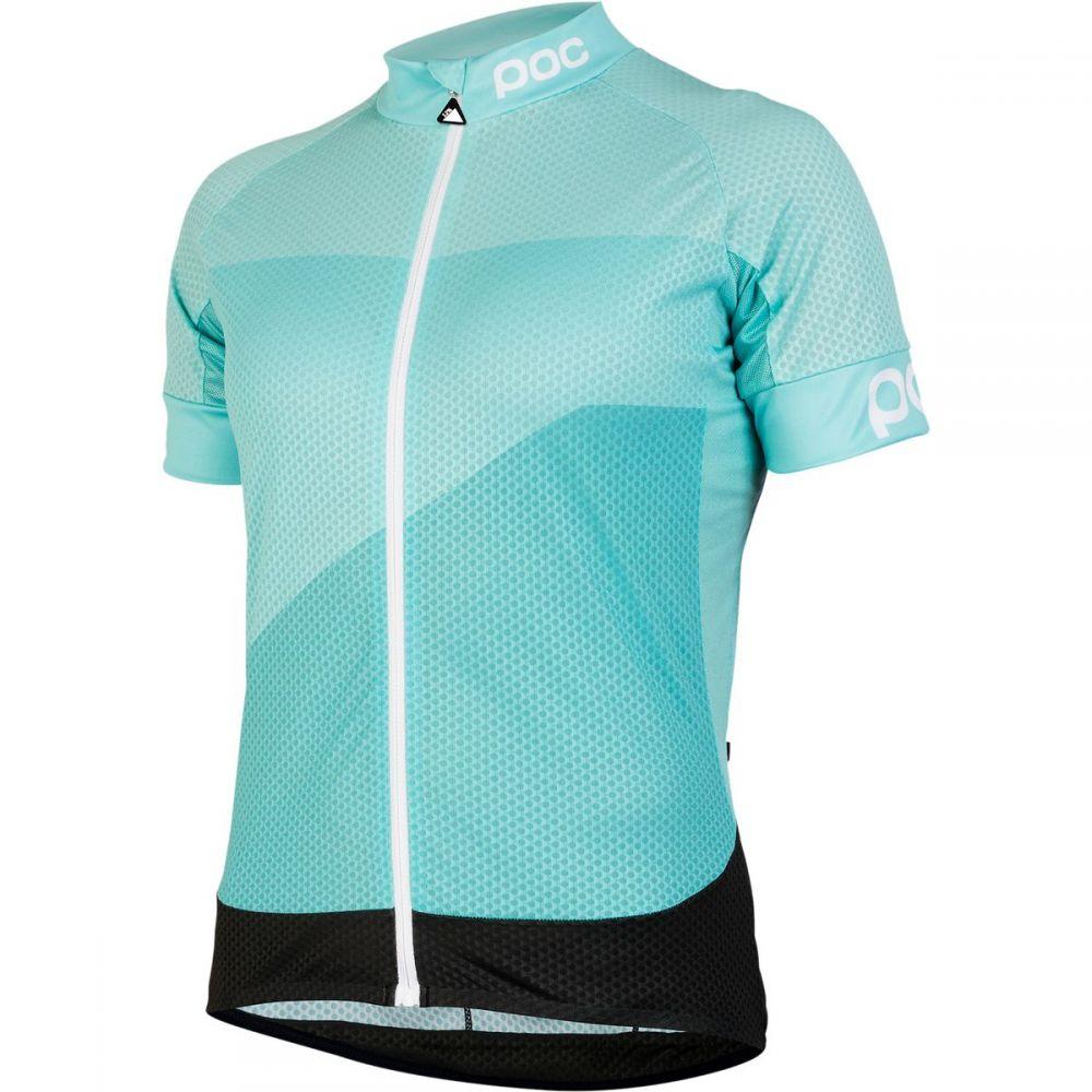 ピーオーシー レディース 自転車 トップス【Fondo Gradient Light Jersey】Octiron Multi Blue