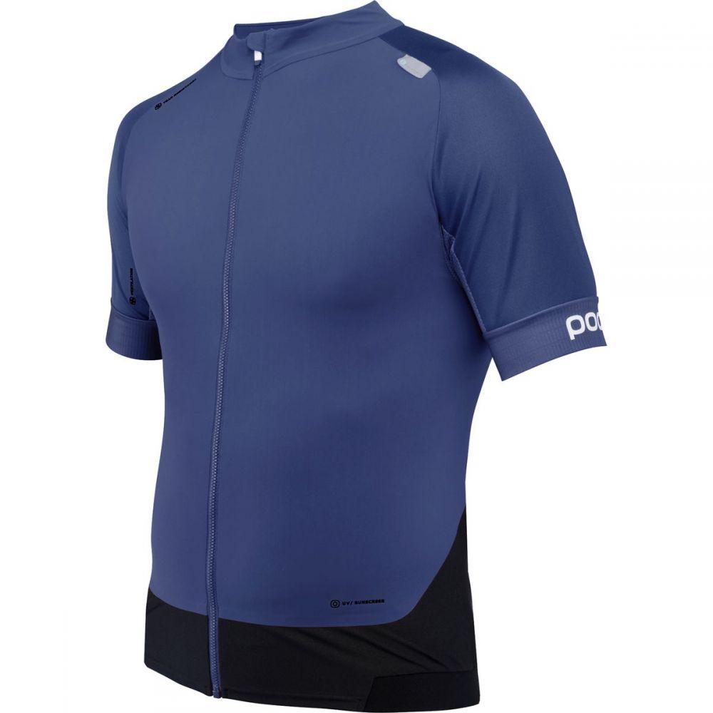 ピーオーシー メンズ 自転車 トップス【Resistance Pro XC Zip T - Shirts】Boron Blue
