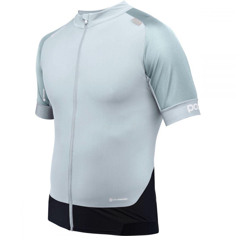 ピーオーシー メンズ 自転車 トップス【Resistance Pro XC Zip T - Shirts】Fenestrane Blue
