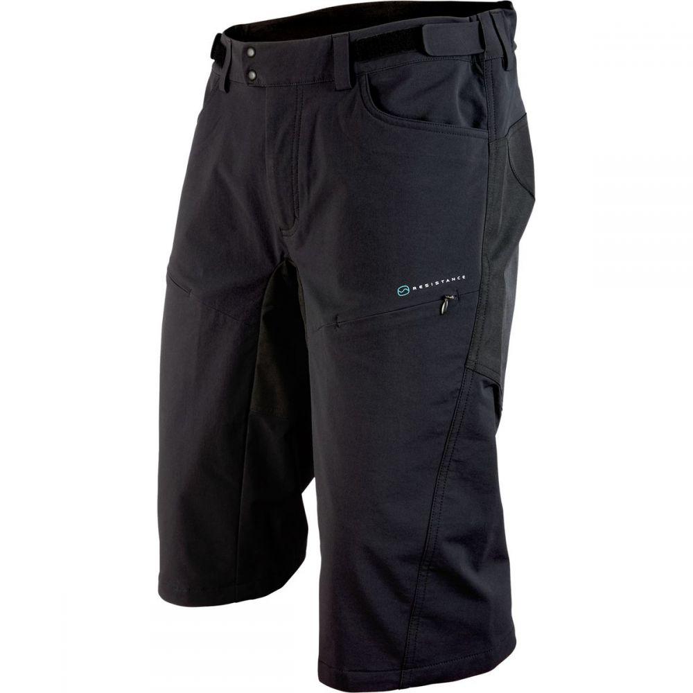 ピーオーシー メンズ 自転車 ボトムス・パンツ【Resistance DH Shorts】Carbon Black